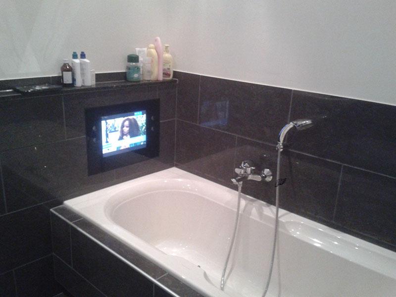 Badkamers nero bouw - Badkamer m met bad ...